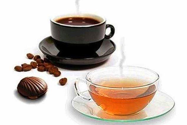7. Kahve çay tüketiminin çok fazla olması da ekstra bir susuzluğa neden olacağı için oruç tutanların buna dikkat etmesi gerekmektedir.