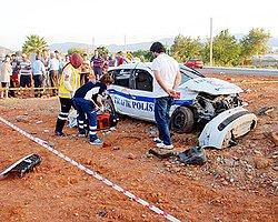 Tır, Polis Otomobilini Biçti: 1 Şehit