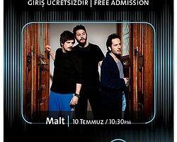 Hard Rock Cafe Istanbul Sahnesinden Malt Geçecek