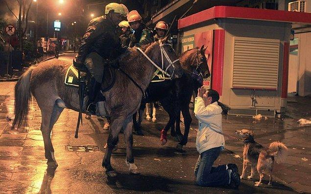 13) Eylemlere karşı şiddetin teminatı: Polise yüzde 15,8 zam