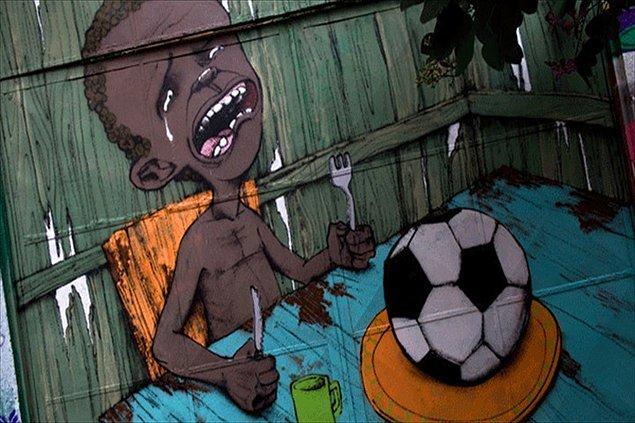 """5) Brezilya, """"Halksız Kupaya"""" karşı"""
