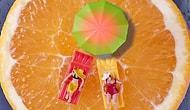 18 İlginç Fotoğrafla Sebze ve Meyvelerdeki Minyatür Hayatlar