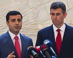 Selahattin Demirtaş, Tbb Başkanı Feyzioğlu'nu Ziyaret Etti