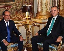 Erdoğan Hollande İle Gazze'yi Görüştü