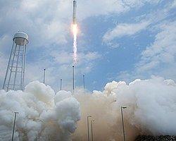 NASA'ya Ait Cygnus Kapsülü Uzaya Fırlatıldı