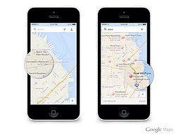 İOS'taki Google Maps Güncellendi!