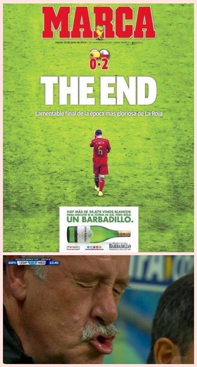 2. İspanya şok bir mağlubiyetin ardından ikinci mağlubiyetini de alarak turnuvaya erken veda edecekti.