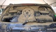 Üzerine Yapılan Çizimlerle Sanat Eserine Dönüşmüş 24 Kirli Araba Camı