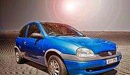 1999 Model Eski Arabasına Muhteşem Reklam Çekti