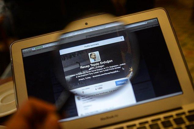 7. Sosyal medyaya karşı olmsuz tutum sergileyen lider: Recep Tayyip Erdoğan