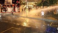 İsrail'in Kara Harekatını Protesto Edenlere Polis Müdahalesi