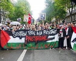 Paris'te Filistin'e Destek Eylemine Yasak