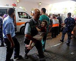 İsrail Ambulansları ve İlk Yardım Birimlerini Vurdu