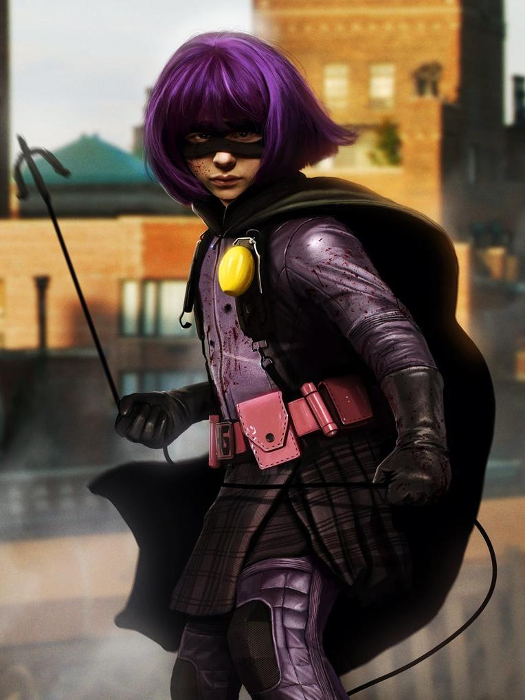 Kick ass hit girl costume — img 2