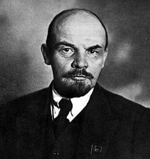 5. Vladimir İliç Lenin, Rus İhtilali Lideri, 1921