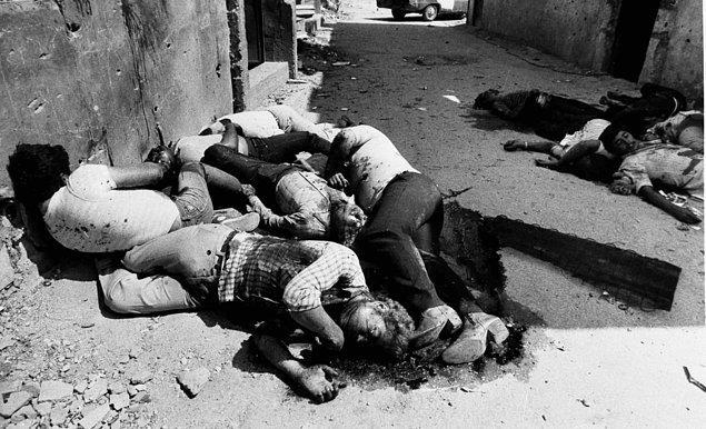 11. İsrail'in Lübnan'ı İşgali - Sabra ve Şatilla Katliamı