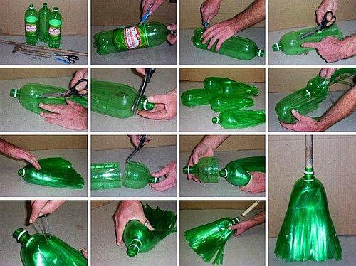 Eski Plastik şişeleri Yaratıcı şekilde Değerlendirmenin 23 Yolu