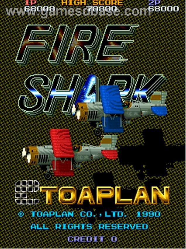 20. Fire Shark