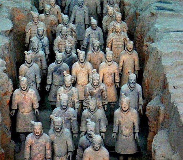 6. Çin'in Ölümsüz Ordusu; Terracotta Askerleri