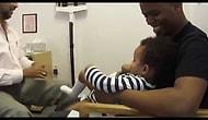 Çocuğa Kaşla Göz Arasında İğne Yapan Doktor