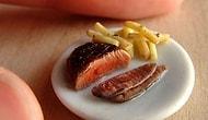 Dişinizin Kovuğuna Yetmeyecek 17 Minyatür Yemek Çalışması