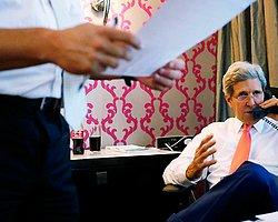 İsrail'in Kerry'yi Dinlediği İddia Ediliyor