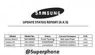 Samsung Galaxy S5 ve Note3 ne zaman 4.4.3 alacak ?