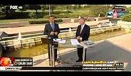 İhsanoğlu Yayındayken Arkadan Erdoğan Otobüsü Geçmesi