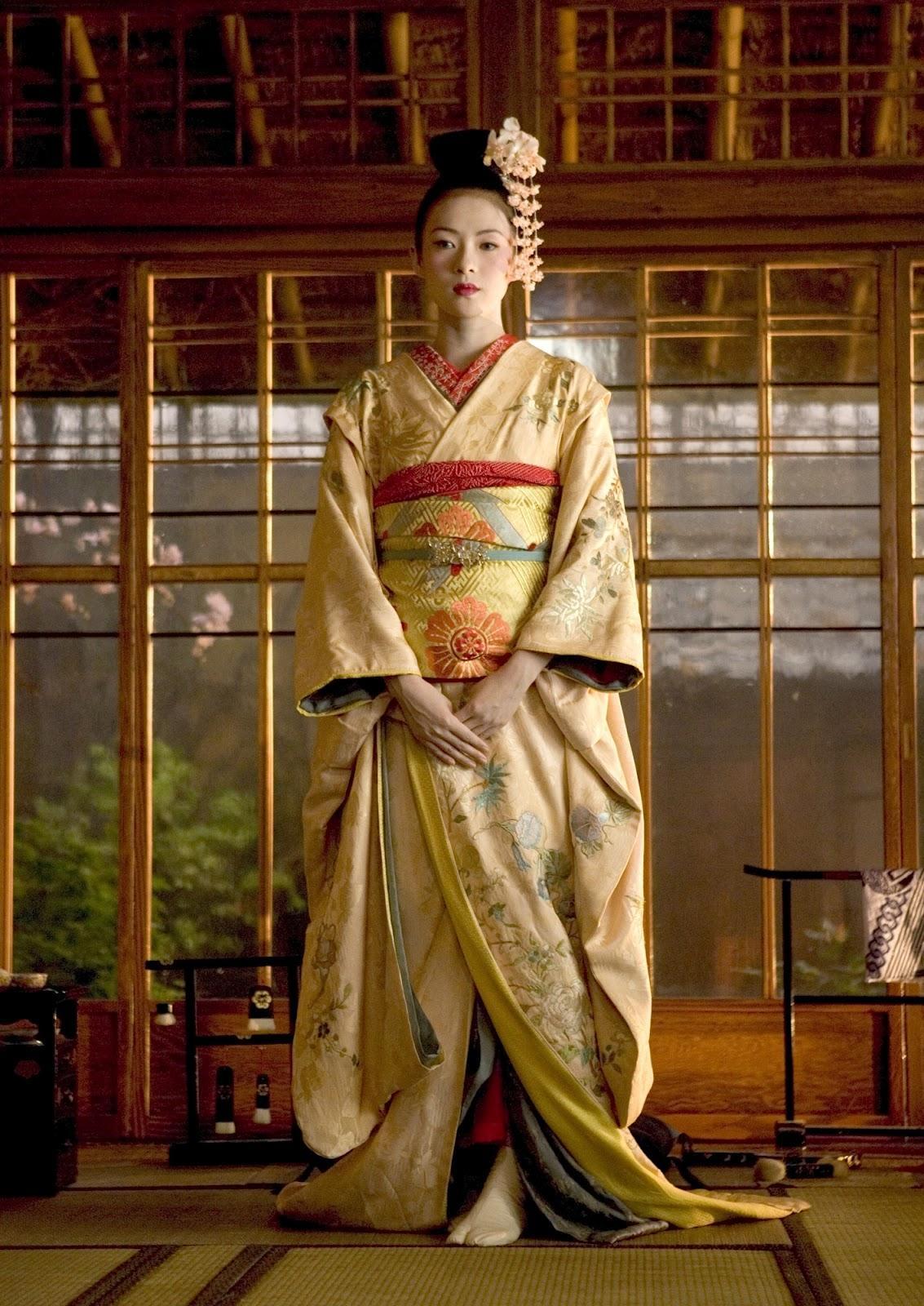 Костюм гейши своими руками фото