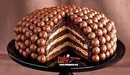 Çikolata Drajeli Pasta Tarifi