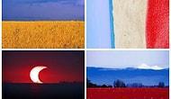 9 Fotoğrafla Ülke Bayrakların Doğadaki Yansımaları