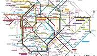 İçinden Çıkmakta Zorlanacağınız 11 Raylı Sistem Haritası