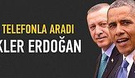 Obama Erdoğan'ı arayarak tebrik etti