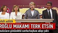 CHP'li Tarhan'dan istifa çağrısı