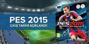 PES 2015 Çıkış Tarihi Duyuruldu!