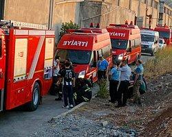 Kahramanmaraş'ta Metal Fabrikasında Patlama Meydana Geldi
