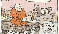 En İyi Meditasyon ve Yoga Karikatürleri