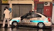 Adana'da Polise Molotoflu Saldırı