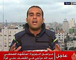 Gazze'de Filistinli Gazeteci Murteca Öldürüldü