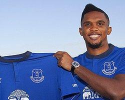 Samuel Eto'o Resmen Everton'da!