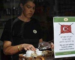 İsrailliler Türk Kahvesine Savaş Açtı