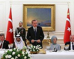 Cumhurbaşkanı Erdoğan'dan İlk Resepsiyon