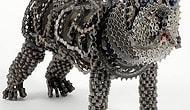 Bisiklet Parçalarından Yapılmış 7 Sevimli Köpek