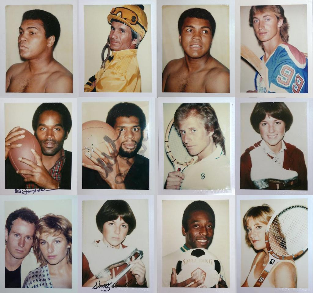 a description and analysis of the polaroid photograph in the torsos series of andy warhol