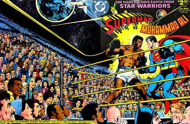 2. Muhammed Ali ile boks maçı yaptı ve yenildi