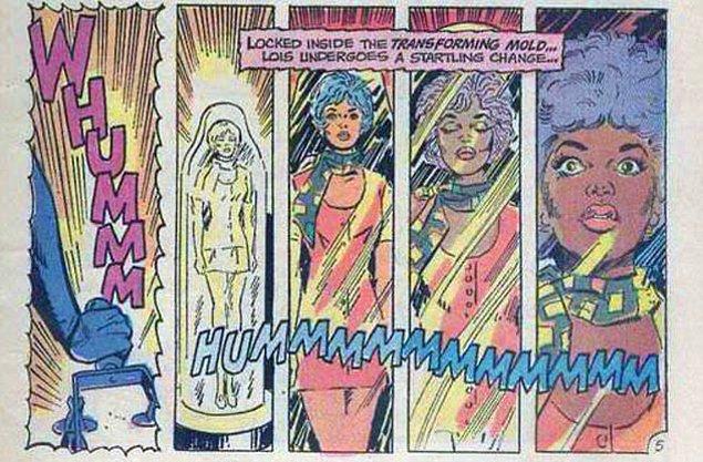 5. Sevgilisi Lois Lane'in 1 günlüğüne zenci olmasına neden oldu