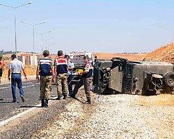 Askeri Araç Takla Attı: 7 Asker Yaralı