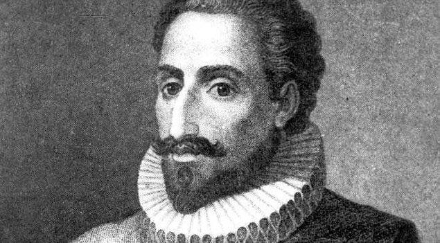 """13. """"Dürüst bir kadının güzelliği, ateşe benzer; yaklaşmayana hiçbir zararı dokunmaz."""" - Cervantes"""