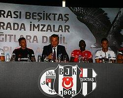 Beşiktaş'ta İmza Töreni Kriz Yarattı