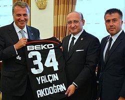 Beşiktaş Başkanı Orman'ın Ziyareti Taraftarları Kızdırdı